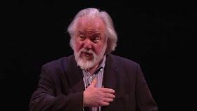 Sir John Tomlinson at a Masterclass at the Royal Opera in 2014