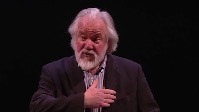 Sir John Tomlinson at a Masterclass at the Royal Opera in 2014
