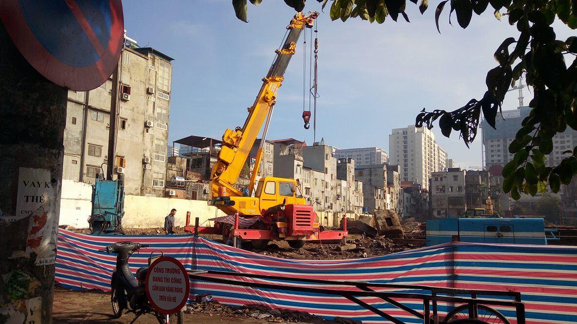 Tiến độ thi công dự án chung cư Thống Nhất Complex 82 Nguyễn Tuân