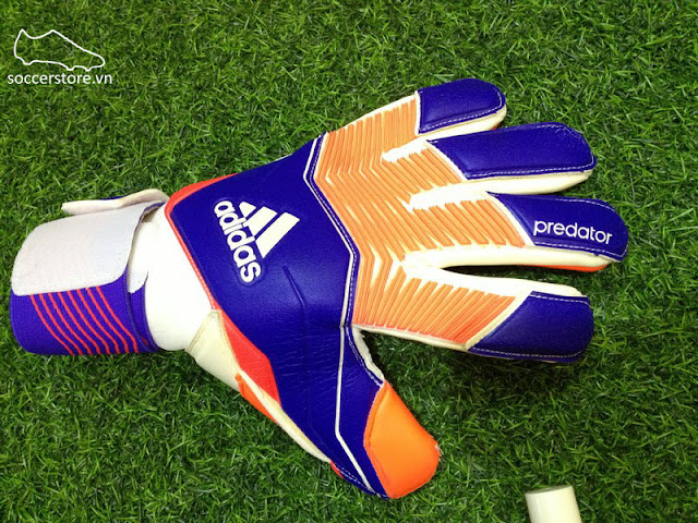 Adidas Predator Zones Pro Night Flash- Solar Red- White GK Gloves