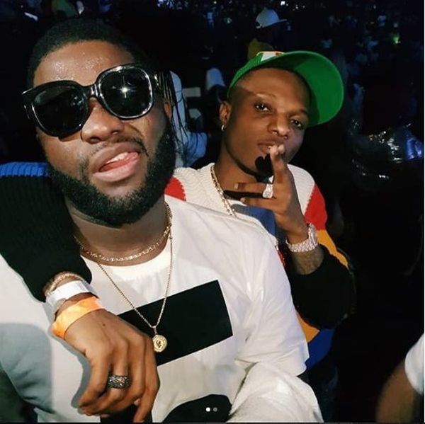 Wizkid And Skales Ends Clash During One Africa Music Fest