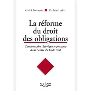 Les livres sur la réforme du droit des contrats et des obligations