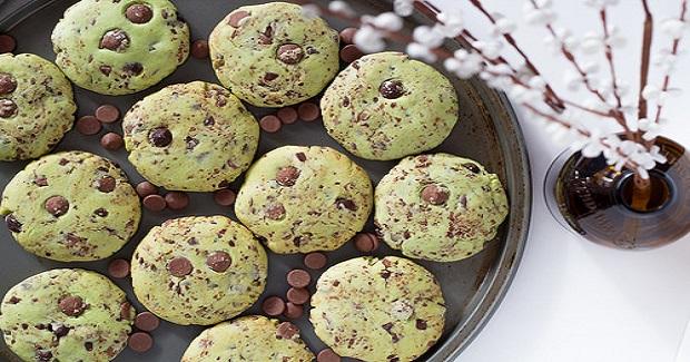 Mint Choc Chip Cookies Recipe