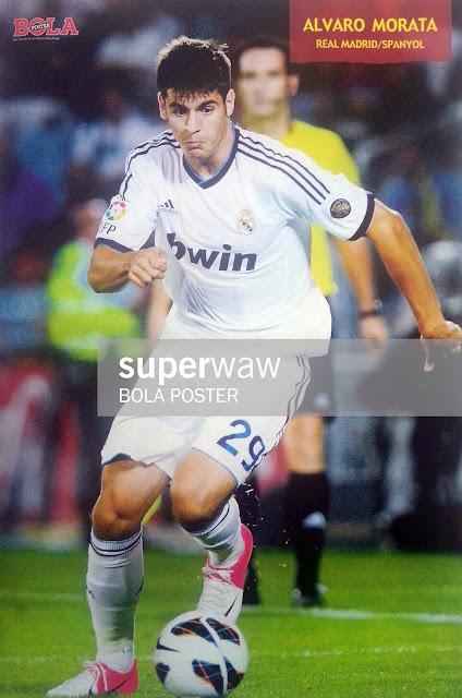 Alvaro Morata Real Madrid 2012