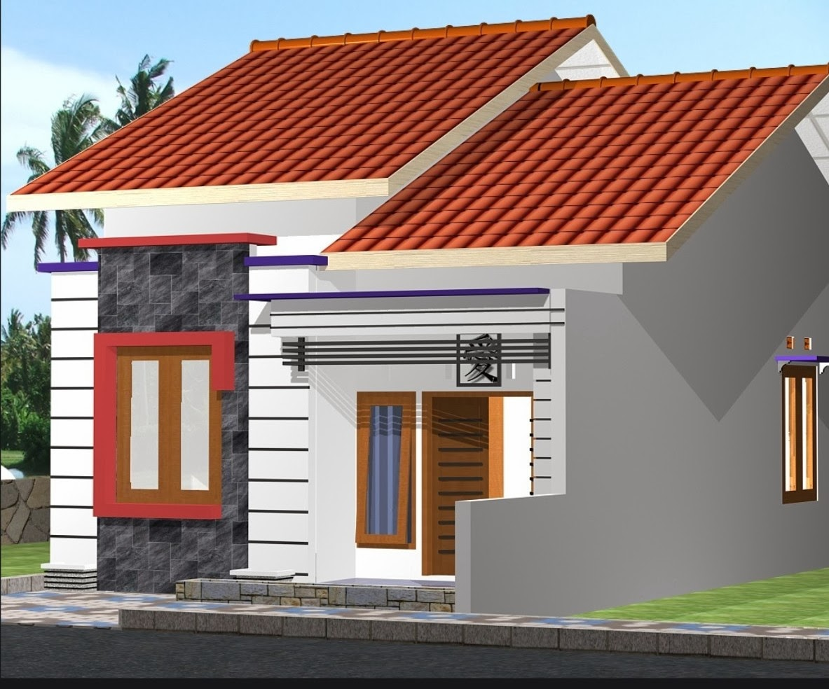 Interior Eksterior Rumah  Minimalis  Ragam dan Bentuk  Atap