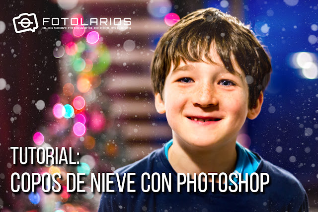 Tutorial: Copos de nieve con Photoshop