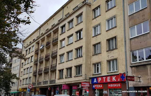 Warszawa Warsaw architektura modernizm Mokotów lata 30 Zdzisław Maczeński Jan Wedel
