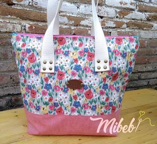 mibebi.com Mellys Tote Bag Pink