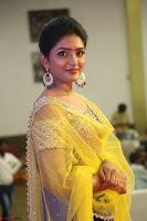 Actress Eesha in Yellow Choli Blue Ghagra at Darshakudu music launch 014.JPG