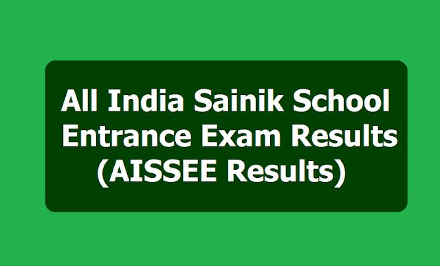 All India Sainik School Entrance Exam Results