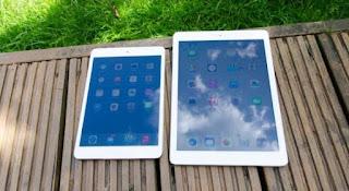 iPad mini 2 and iPad 2 big