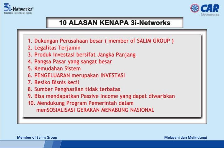 peluang bisnis10 3i networks