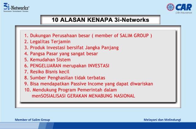 peluang bisnis 10 3i networks