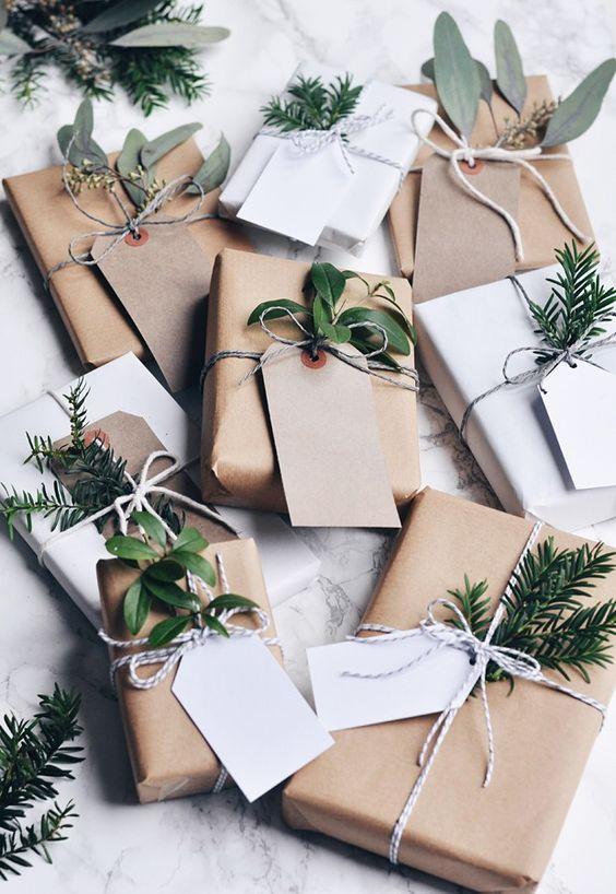 Christmas Wrapping... Naturally!