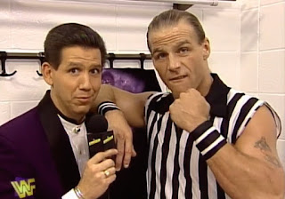 WWE / WWF - Summerslam 1997 - Todd Pettengill interviews Shawn Michaels