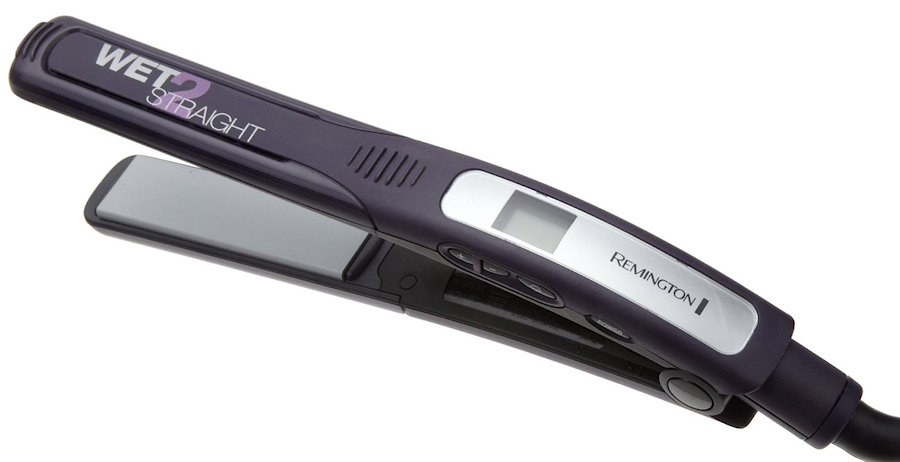 Remington wet to straight flat iron