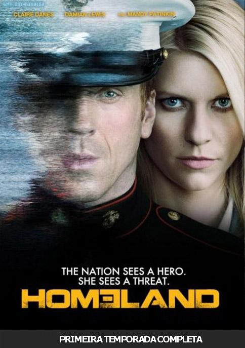 Homeland 1ª Temporada Torrent - BluRay 720p e 1080p Dual Áudio (2011)