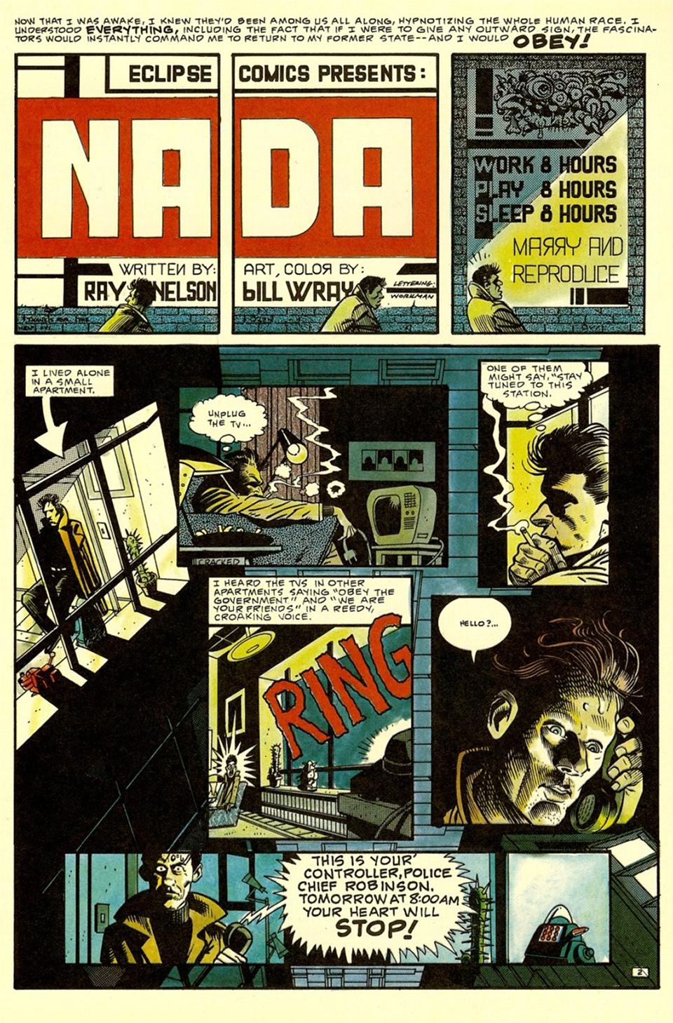 SAP Comics: Nada