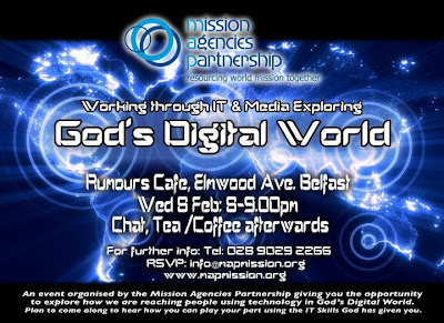 God's Digital World flyer