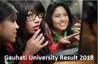 gauhati.ac.in Result 2019 TDC 1st, 3rd, 5th Gauhati University Result 2018 BA, BCom, MA