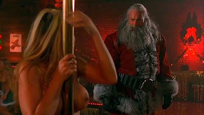 Bill Goldberg en Père Noël tueur dans VERY BAD SANTA (SANTA'S SLAY)