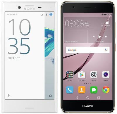Sony Xperia X Compact vs Huawei Nova