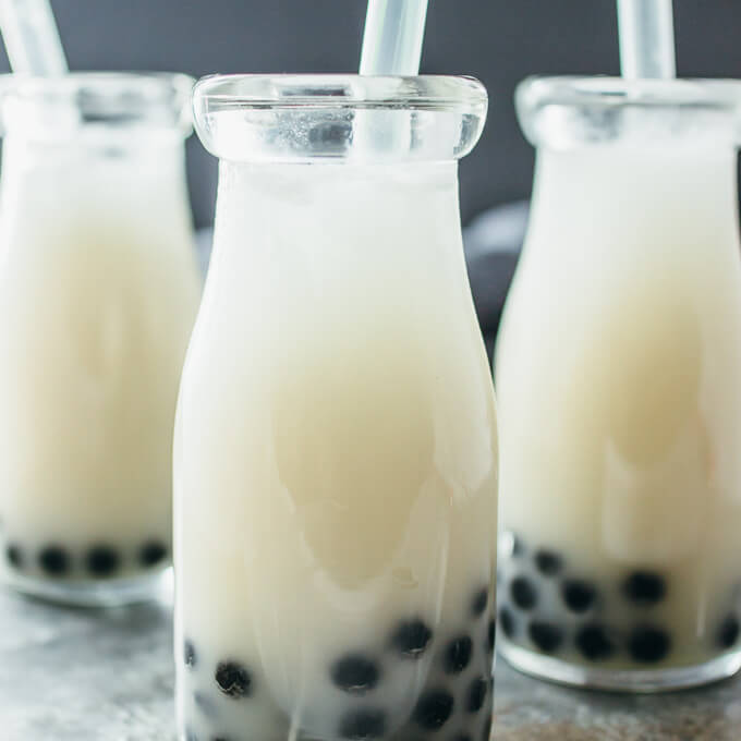 COCONUT BUBBLE TEA #coconut #drink
