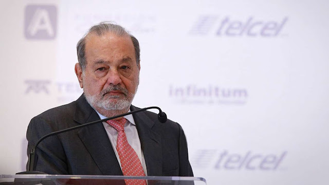 Carlos Slim, pobrecito, deja de ser tan rico y tan guapo y atlético…