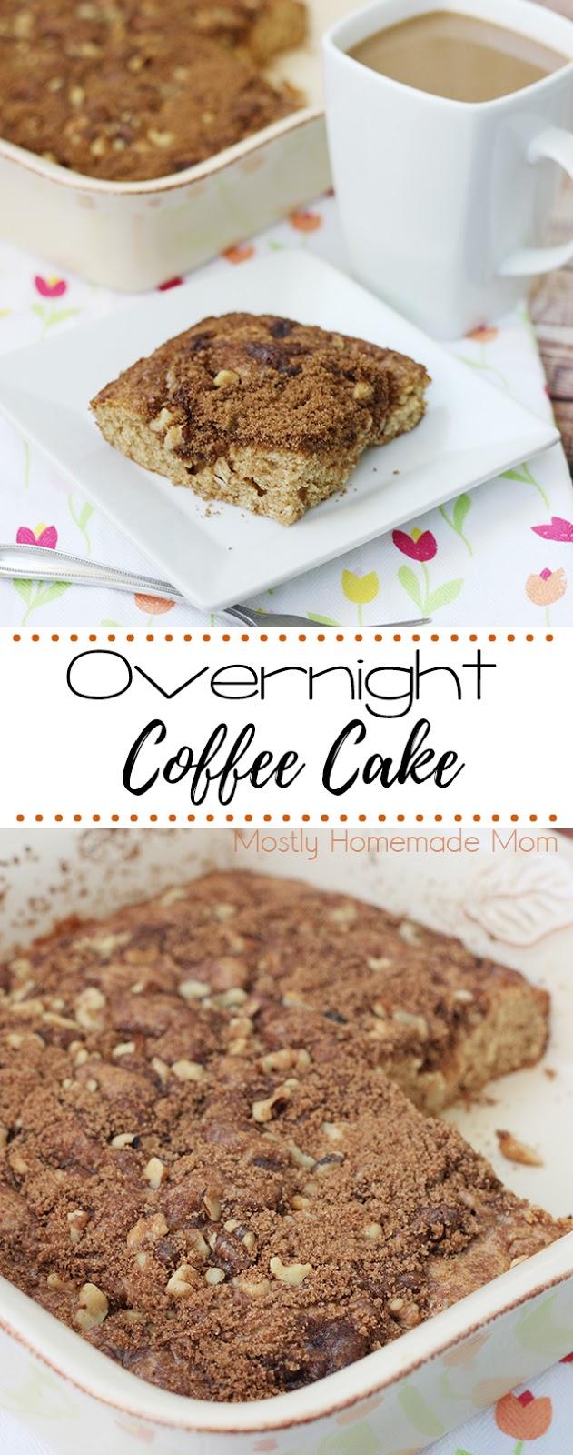 Best Low Sugar Coffee Cake Recipe