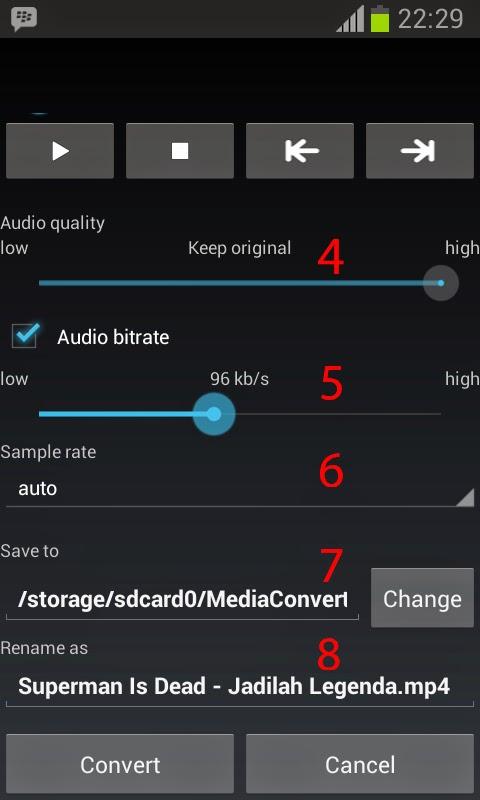Tutorial : Merubah Mp4 menjadi Mp3 di Android