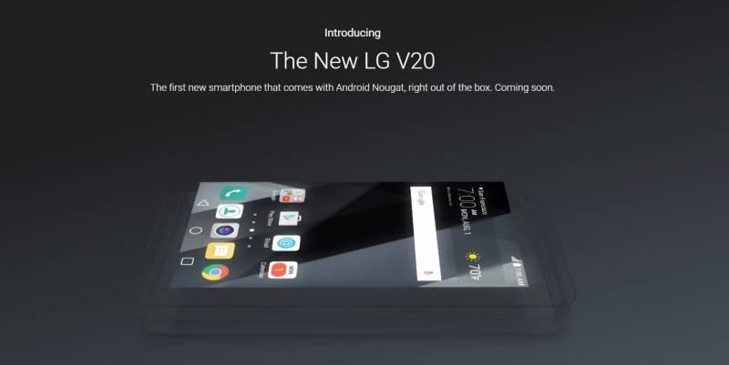 LG V20 Smartphone Terbaru Pertama yang Akan Mendapatkan Android 7.0 Nougat
