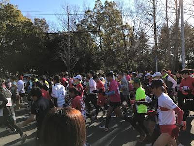 第52回越谷市元旦マラソン大会