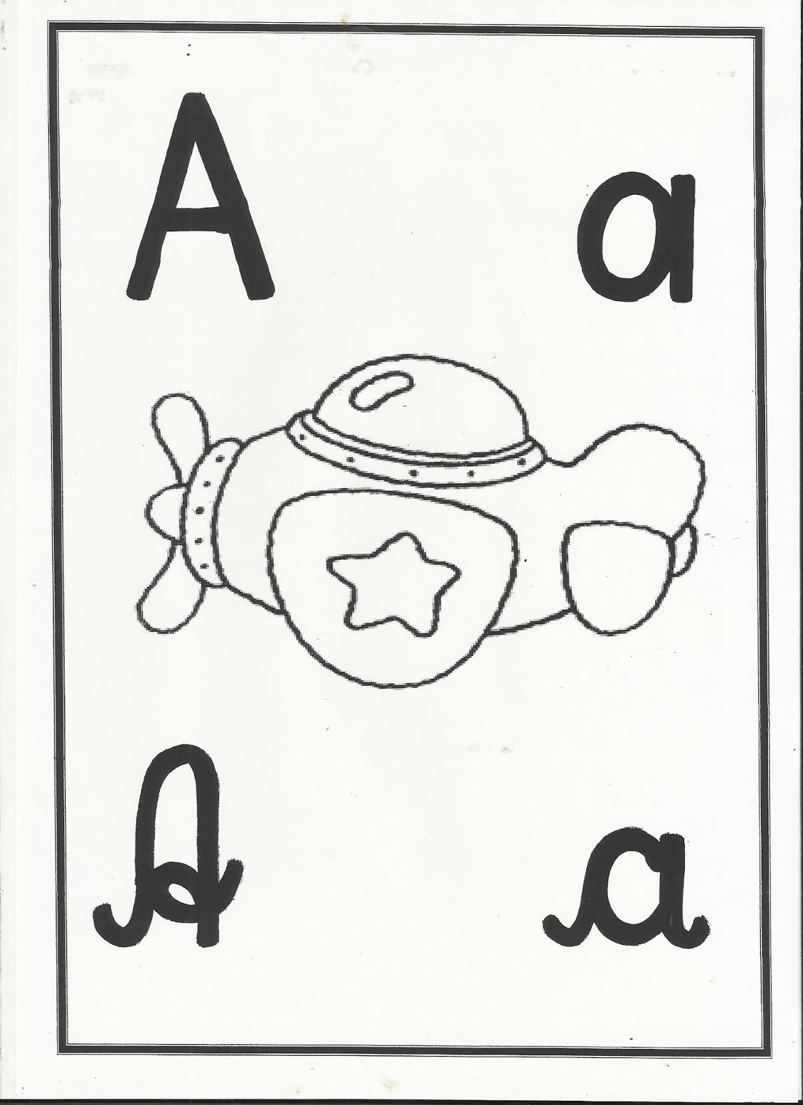Profª Ivani Ferreira Alfabeto Para Imprimir E Colorir 4 Letras