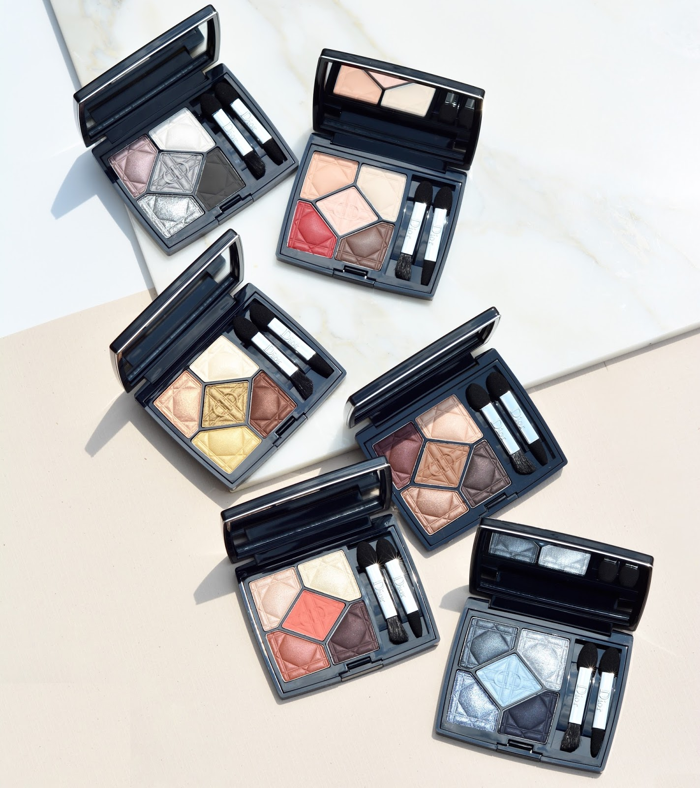 dior 5 couleurs eyeshadow palette quint swatches review expose feel exalt inflame provoke defy