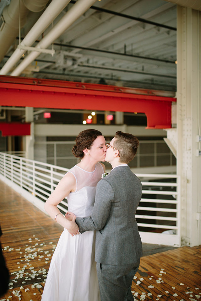 It's official! | Photography by Jessica Holleque