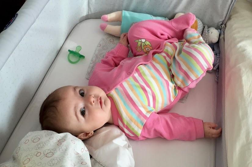 Vista del bebé con 5 meses