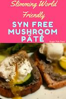 Slimming world mushroom pate recipe
