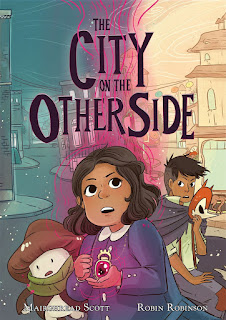 Review of The City on the Other Side by Mairghread Scott, illustrated by Robin Robinson