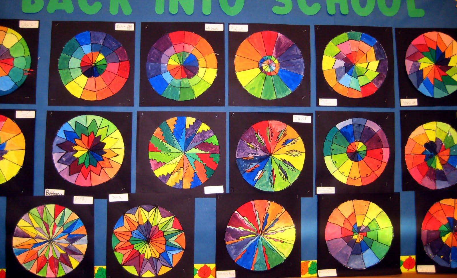 Lesson Plans: Middle School | Megan Coyle: Artist ...  |Middle School Art Lesson Ideas