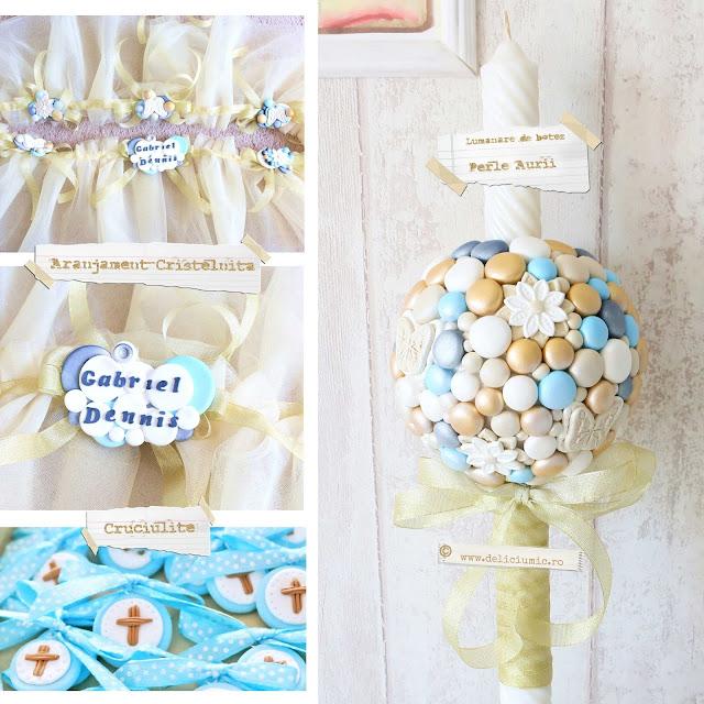 accesorii de botez perle