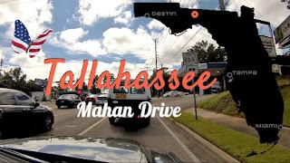Tallahassee Mahan Drive, Florida USA