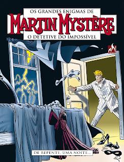 Capa da HQ Matin Mystère O detetive do impossível: De repente, uma noite...