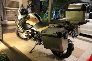 FOR SALE BMW R1200GS ADV White Tahun 2013 - JAKARTA