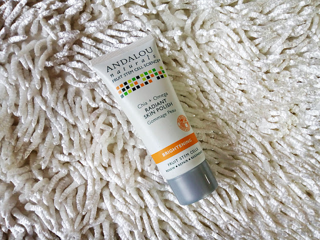 ANDALOU NATURALS Chia + Omega Radiant Skin Polish, skin care, beauty, smooth skin, flawless skin, beauty blog, best skincare, red alice rao, redalicerao