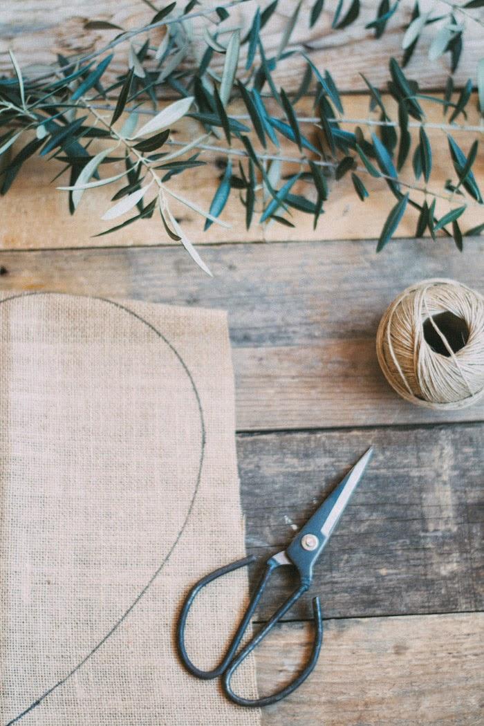 Crea un cojín con tela de saco