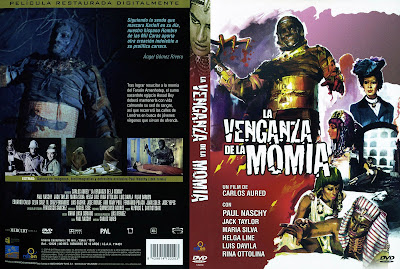 Carátula dvd: La venganza de la momia (1973)