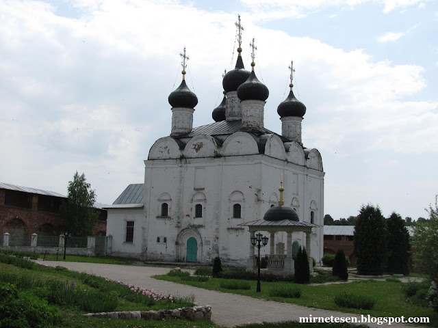 Никольская церковь в Зарайском кремле
