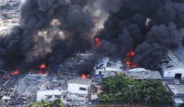Explosión de Villas Agrícolas dejó 4 muertos y 84 heridos