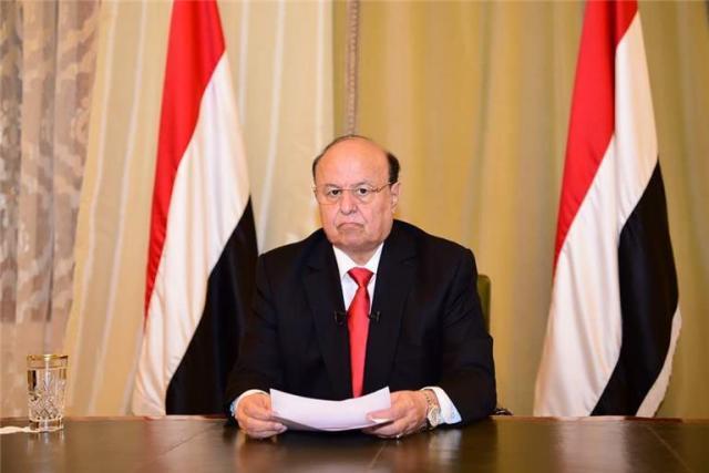 عبدربه منصور هادي يوجه خطابا هاما للشعب اليمني