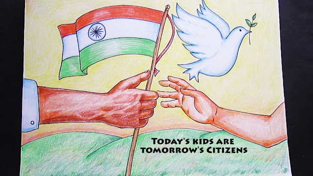 Republic Day Drawing For Students